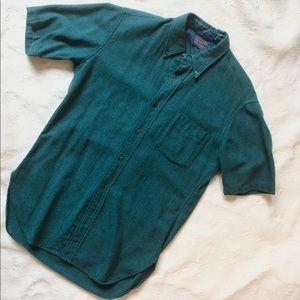 Pendleton SS Wool Button Down